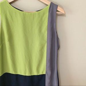 Straight multicolored dress